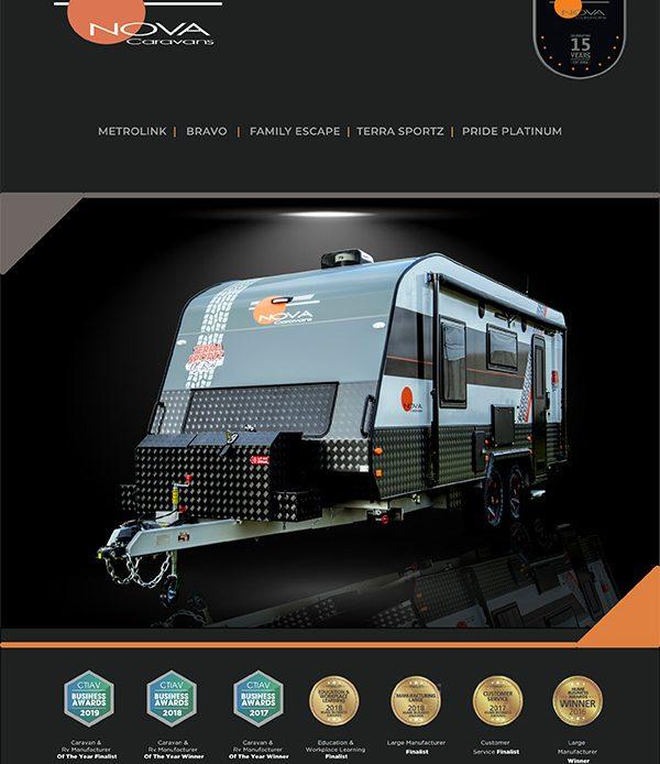 Nova Caravans Brochure